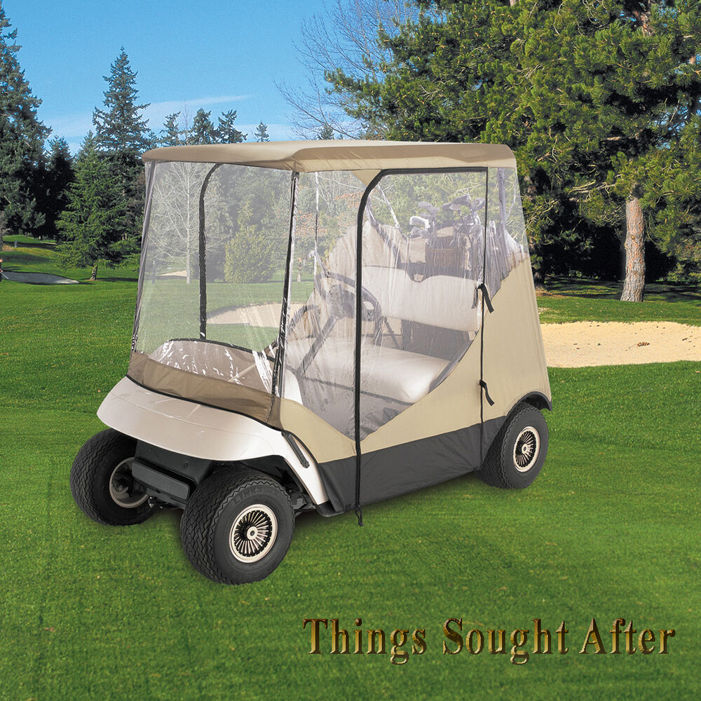 Travel Enclosure for Specific Size Club Car Two Person