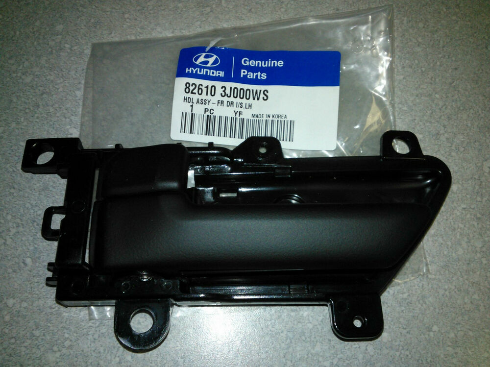 Genuine Oe 2006 2012 Hyundai Veracruz Inside Door Handle Lh F R 82610 3j000 Ws Ebay