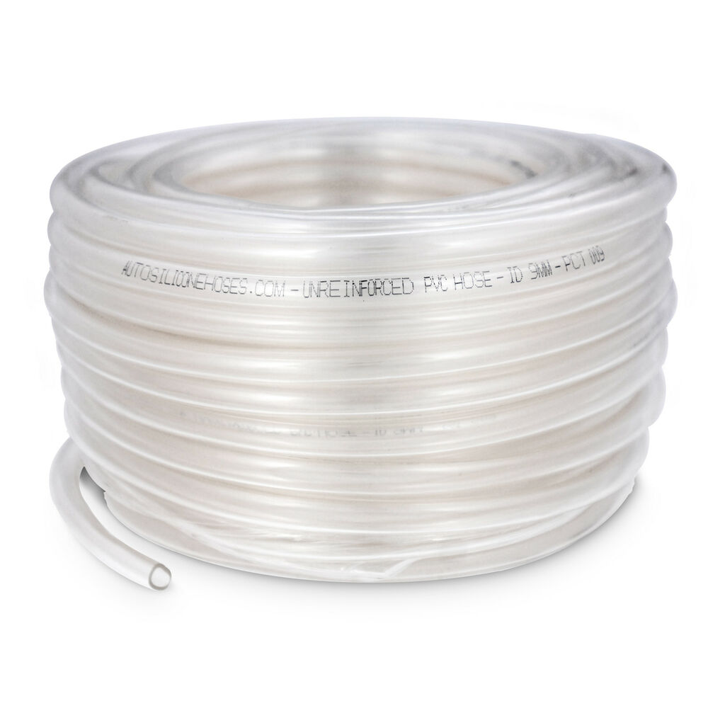 Braided pvc tube 30 metre coils plastic hose pipe food for Garden pond hose