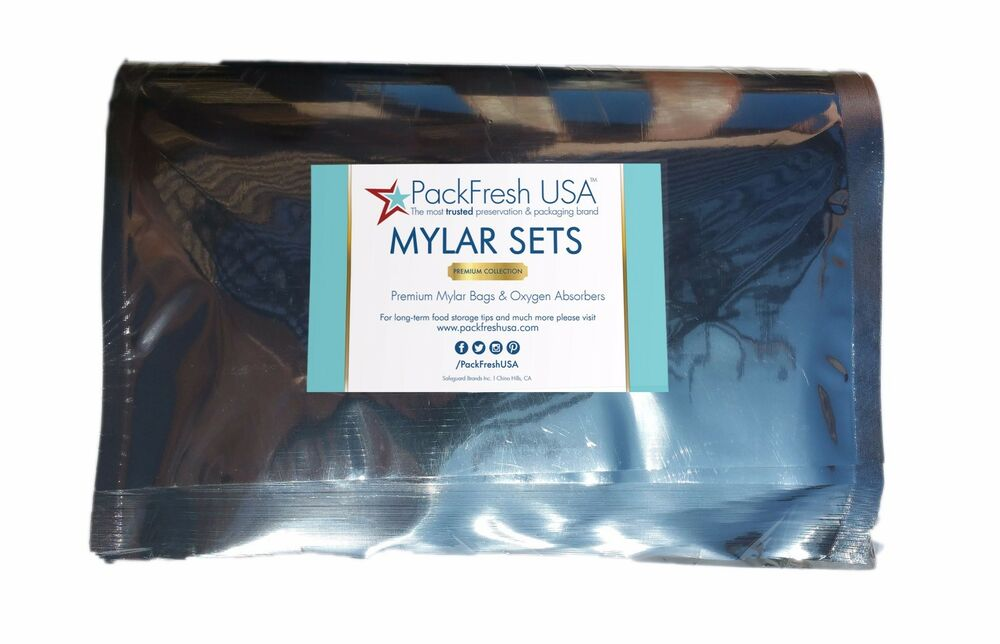 Mylar Bags Oxygen Absorbers Choose Your Own Combo
