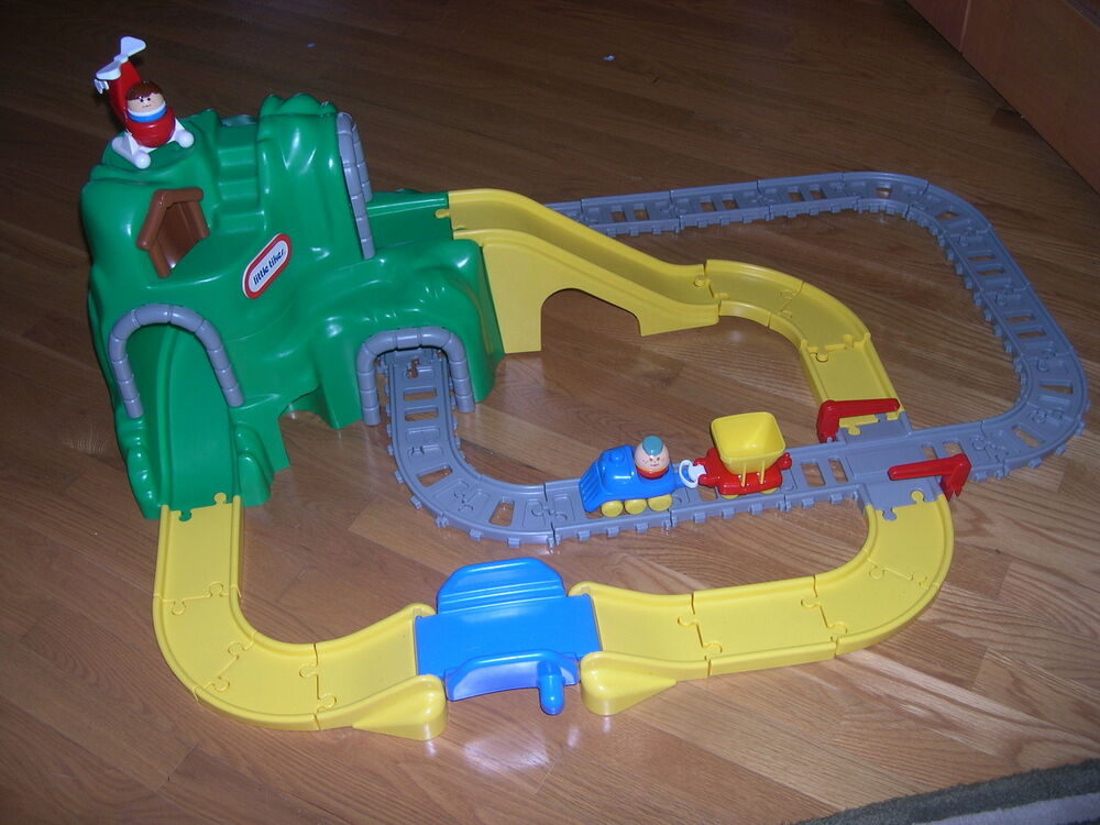 little tikes peak road and rail set instructions