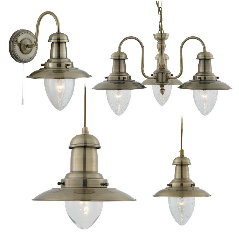 searchlight fisherman antique brass maritime style light. Black Bedroom Furniture Sets. Home Design Ideas