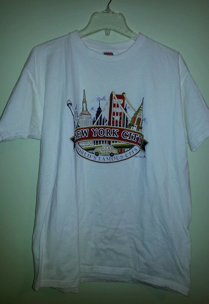 New York City T Shirt Ebay