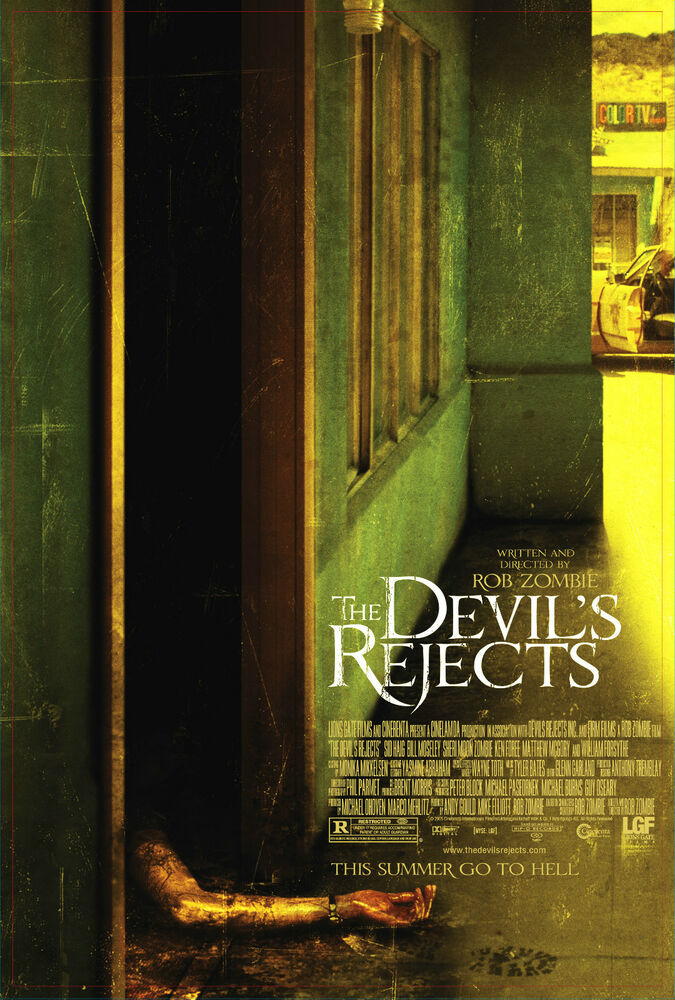 The Devils Rejects Movie Poster Horror Ebay