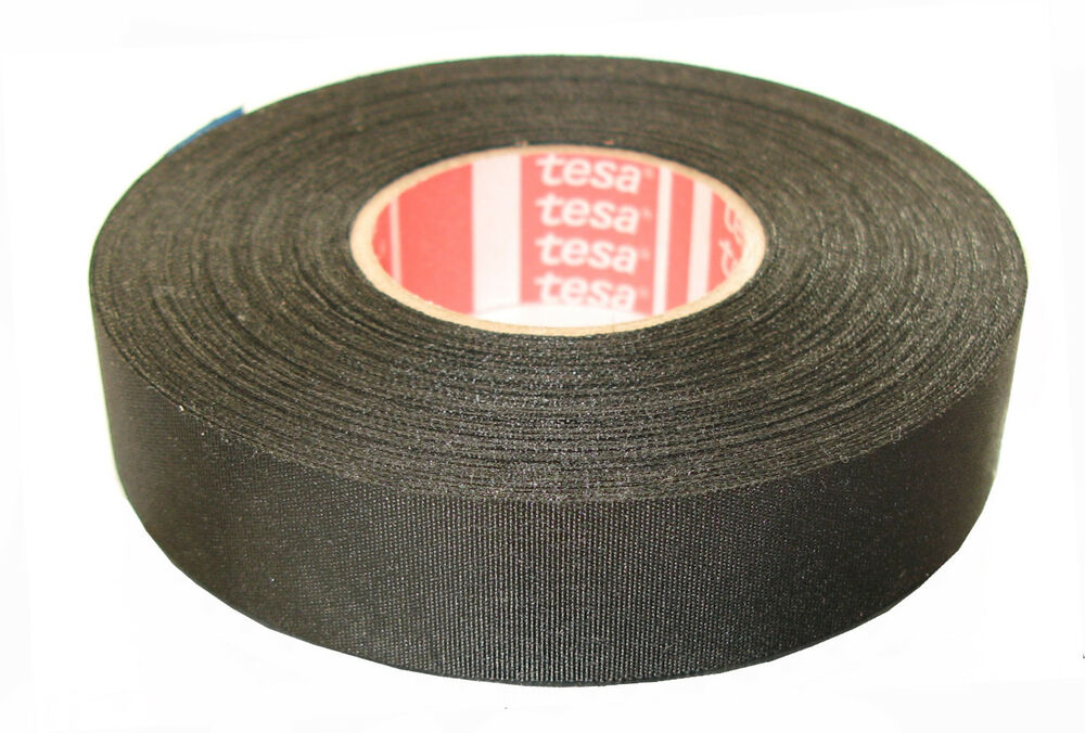 TESA 51026 3 4 quot x 27 5yds Adhesive Cloth Fabric Tape cable
