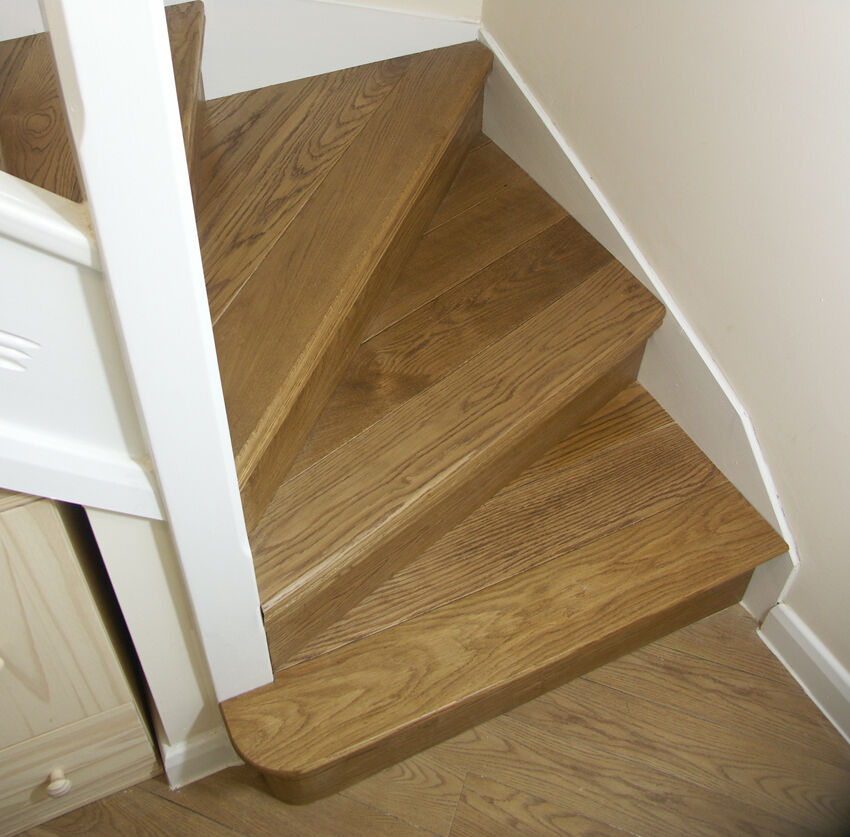 attic expansion ideas - Oak Stair Cladding Staircase Refurbishment Kit Stair