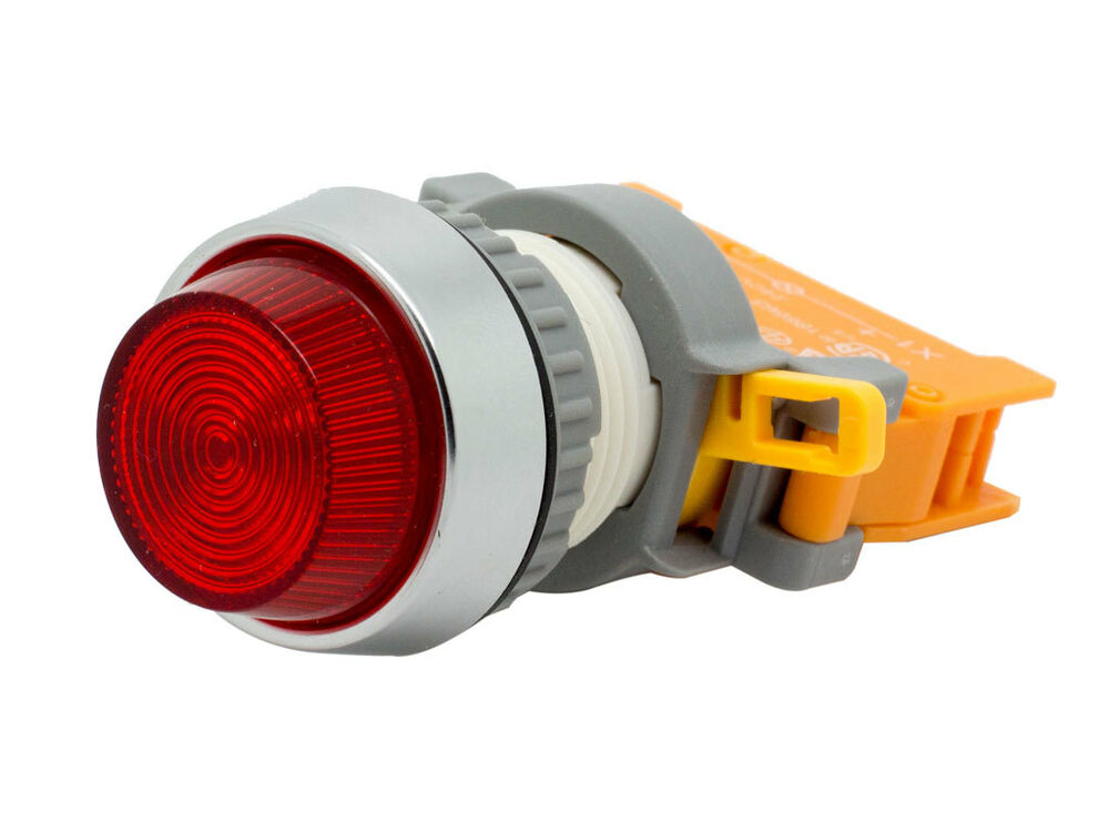 PLN: PLN-22A ATI Red LED Pilot Indicator Light 22mm 220V AC