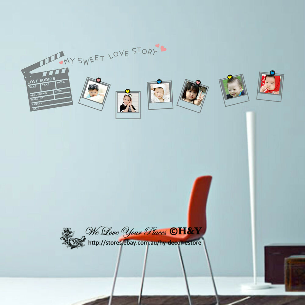 Picture Photo Frames Wall Stickers Vinyl Wall Decal