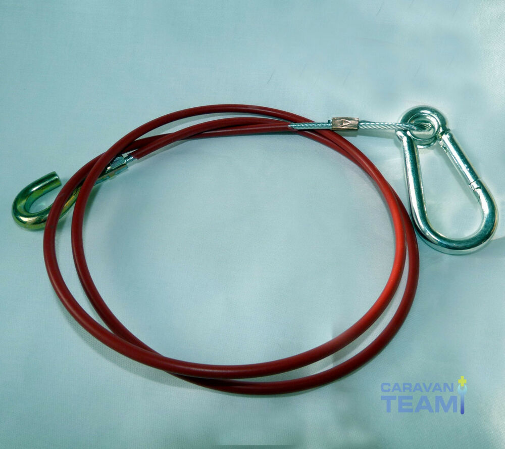 GENUINE AL-KO KOBER HEAVY DUTY BREAKAWAY CABLE FOR TOWING HITCH ...
