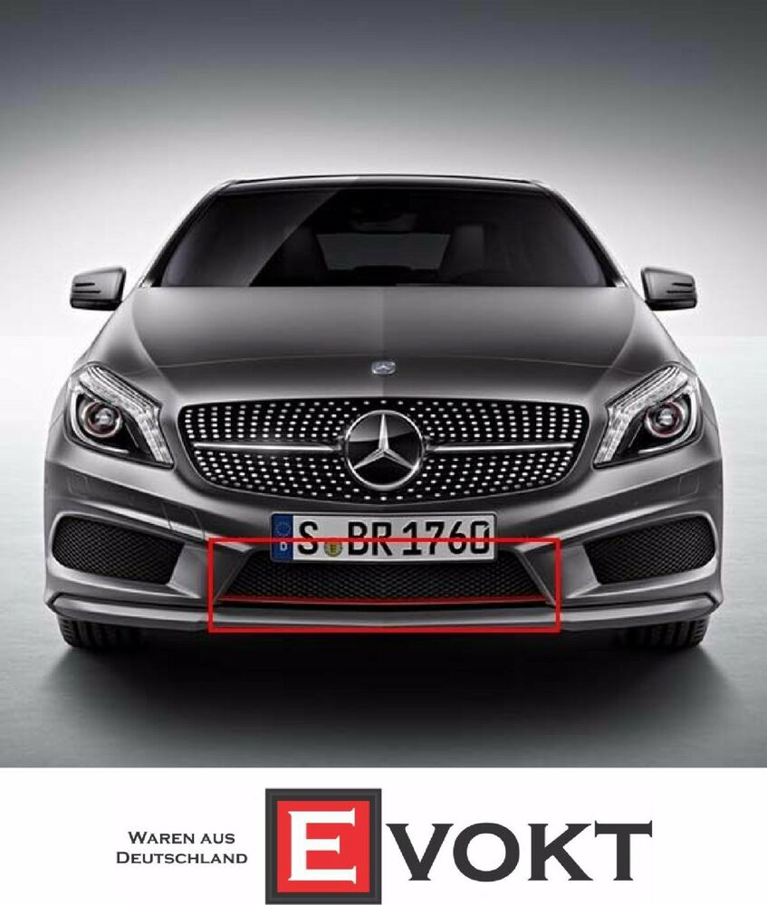 Mercedes-Benz A250 Sport Grille Grill With Red Trim For A