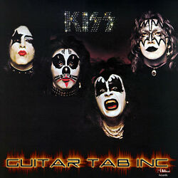 Kiss Digital Guitar Tab SELF TITLED Lessons on Disc Ace Frehley Paul Stanley