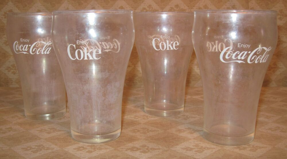 Curved Drinking Glasses