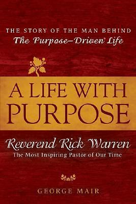The purpose of life book by rick warren