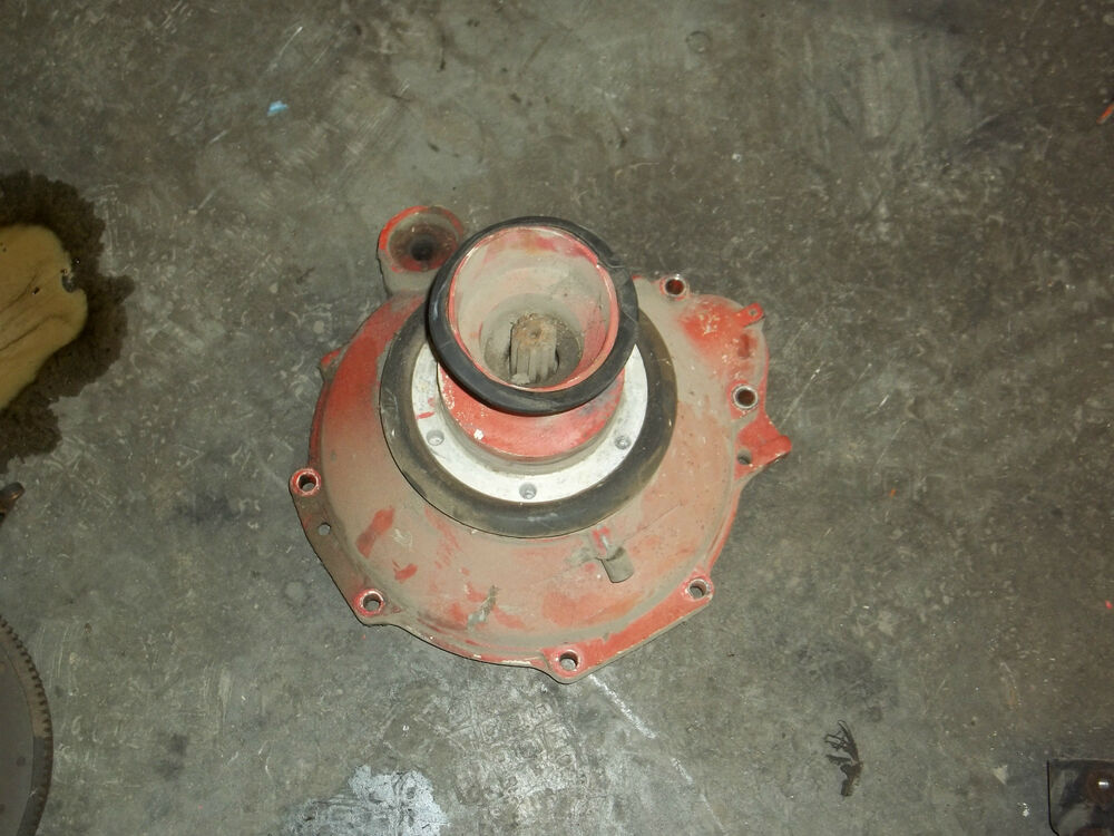 Volvo Penta Aq 130c  270  Aq130d  280 Flywheel Housing  U0026 Shaft 832763
