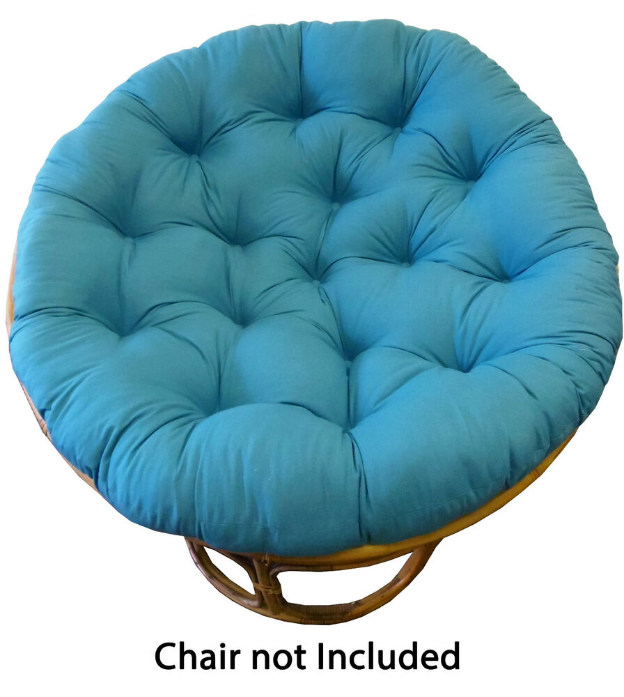 Cotton Craft Solid Color Papasan Overstuffed Chair