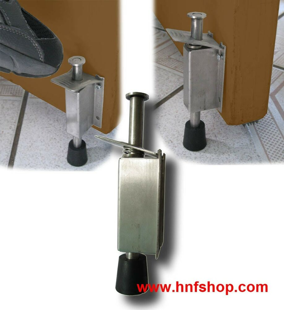 1pc of hnf shop stainless steel door draft stopper stop for Door draft stopper