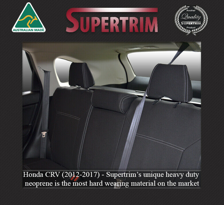 superior honda crv cr v waterproof rear car seat covers 100 fit or money back ebay. Black Bedroom Furniture Sets. Home Design Ideas