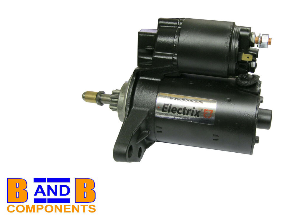 vw golf mk2 1 6 1 8 gti 8v 16v starter motor 055911023k. Black Bedroom Furniture Sets. Home Design Ideas