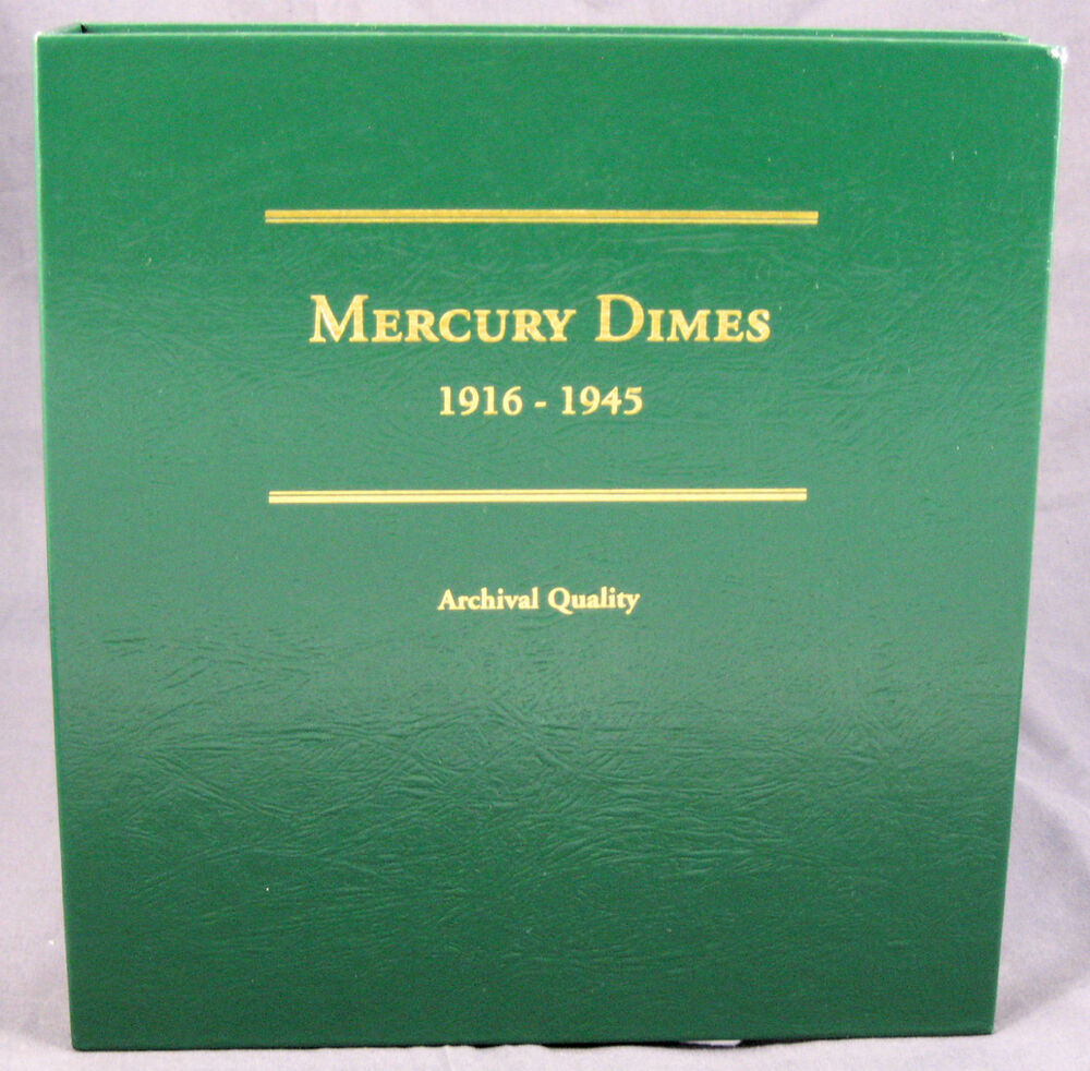 Coin album by littleton mercury dimes 1916 1945 lca2 ebay for Mercerie nimes
