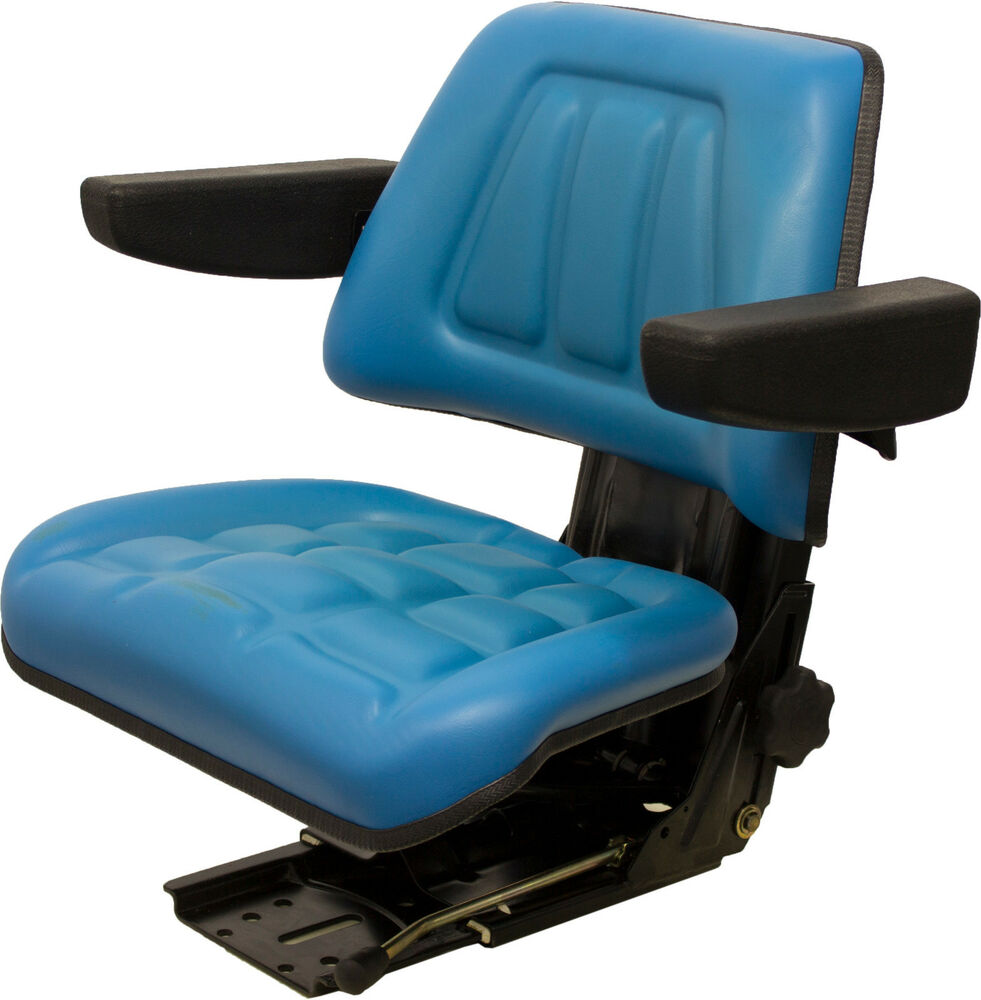 A For 555a Backhoe Seat : Ford new holland utility tractor seat suspension fits