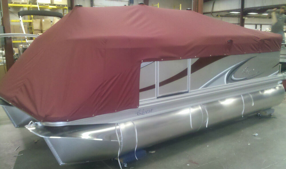 Plattoon Boat Covers : Gillgetter pontoon boat cover  ebay