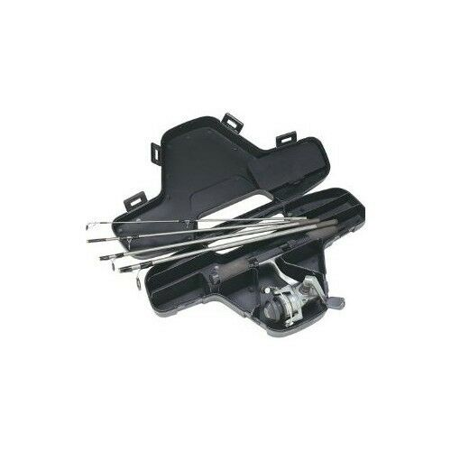 Fishing Mini Spinning Reel And Rod Combo In Hard Carry