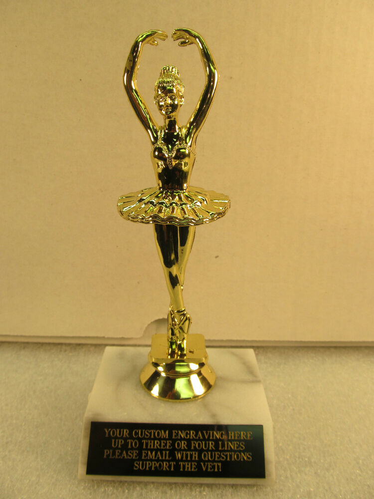 Ballerina Dance Trophy Award 7 Quot Free Engraving Shipped 2