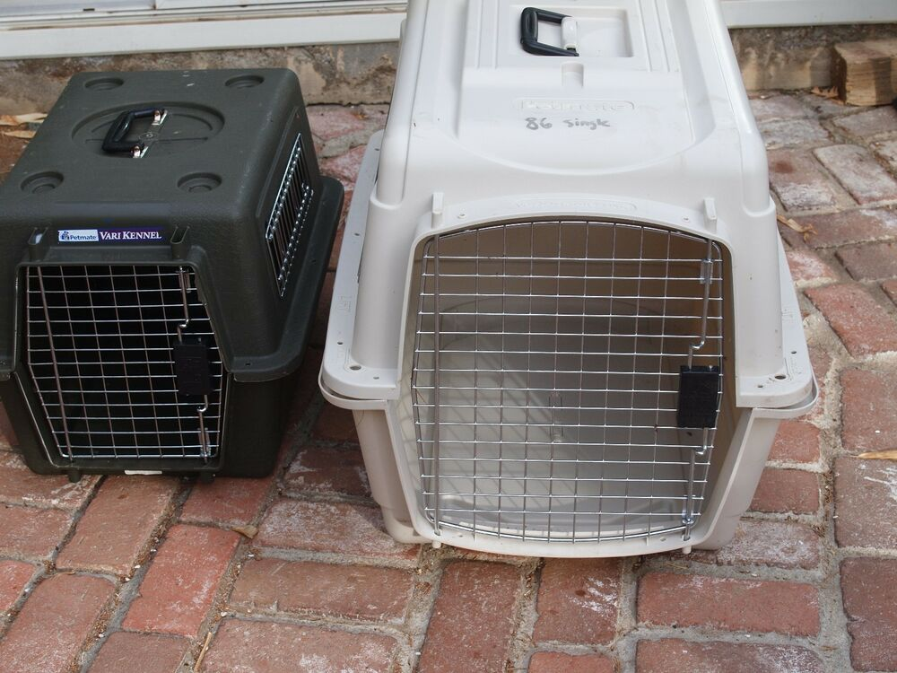 Large plastic hard sided travel pet crates only used for Hard plastic dog house