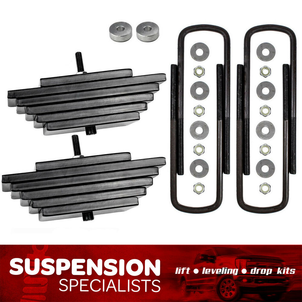 "Ford Lift Kits: 99-05 FORD F250 Superduty 3""+ Front Leveling Lift Kit 4x4"