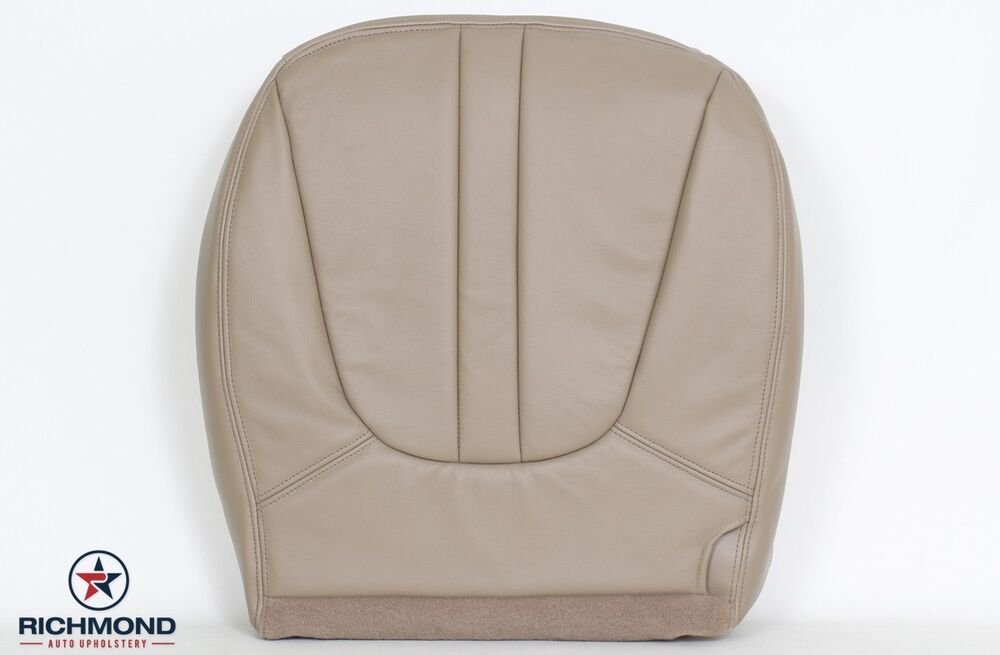 2000 ford expedition driver side bottom captain bucket leather seat cover tan ebay. Black Bedroom Furniture Sets. Home Design Ideas