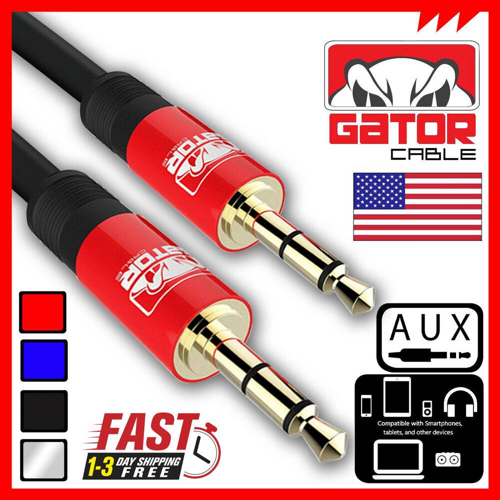 Aux Auxiliary Cable Male Audio Cord 3 5mm Car Iphone