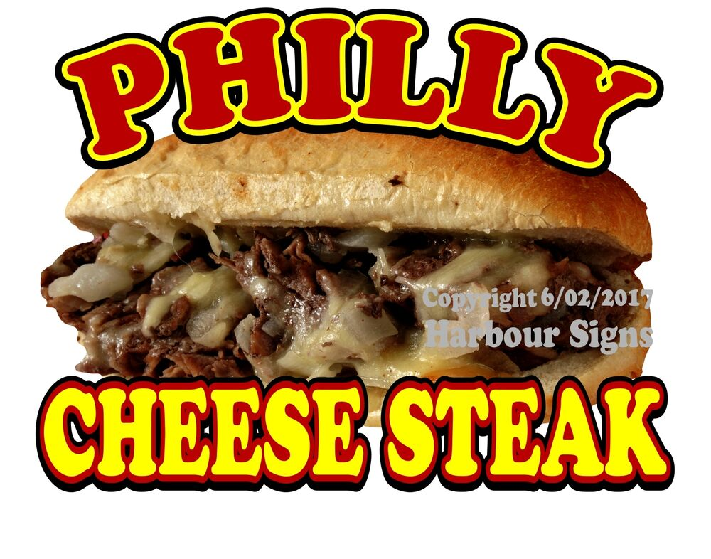 Philly cheese steak decal 14 cheesesteak sub sandwich for Kitchen 88 food truck utah menu