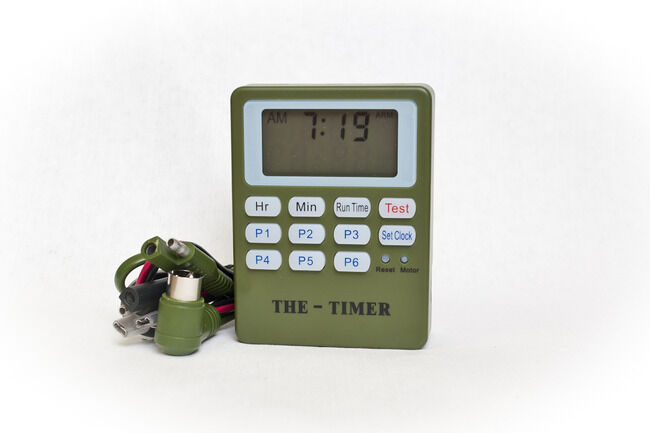 The timer two stage fish feeder timer ebay for Fish feeder timer