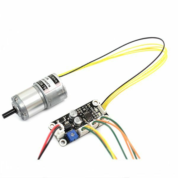 Bldc Gear Motor 1 104 Reduction 63rpm Dc 24v 2 5w With