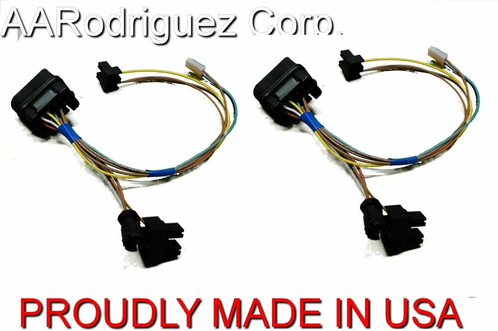(2) New Headlight Wiring Harness 1999 - 2005 VW MK4 Golf ...