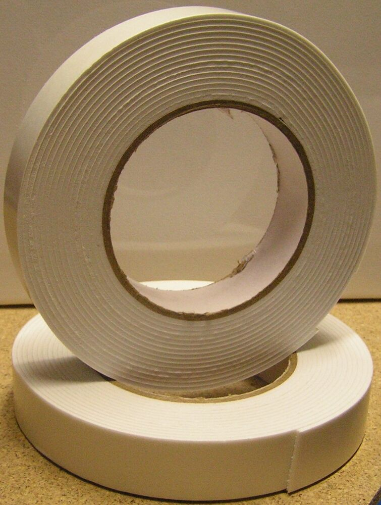 10 metres double sided self adhesive foam craft tape