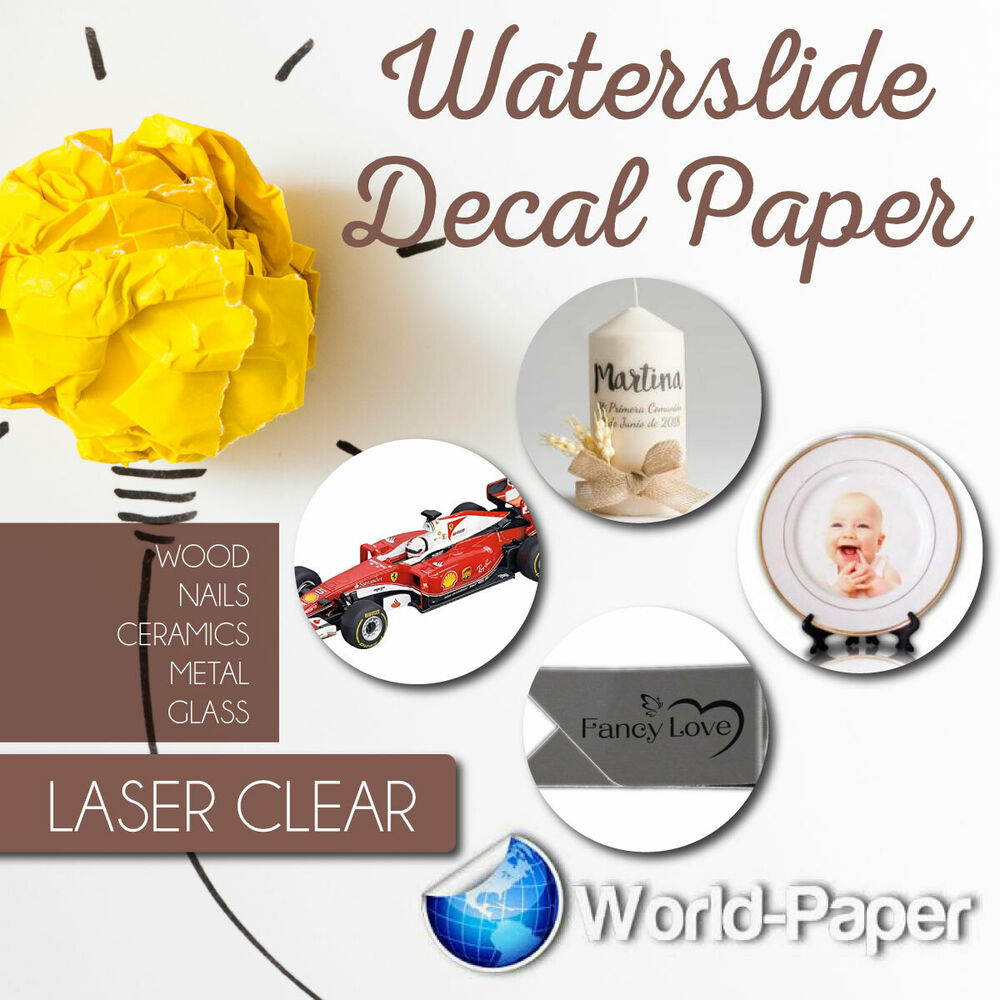 Laser Decal Paper