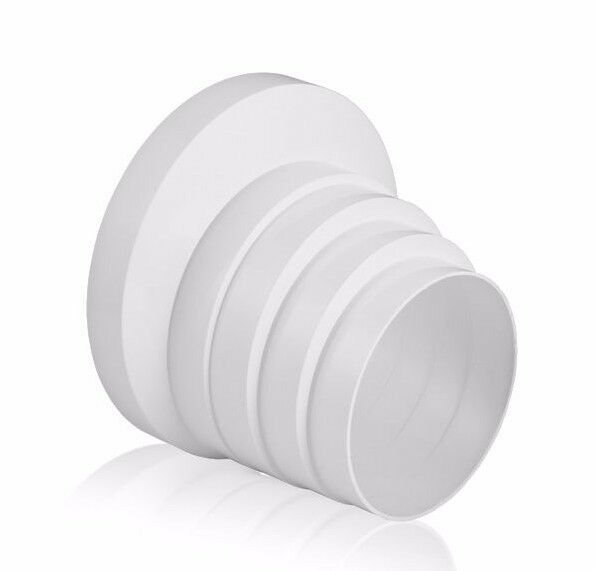 Ducting Pipe Reducer Pvc 100mm 110mm 120mm 125mm 150mm