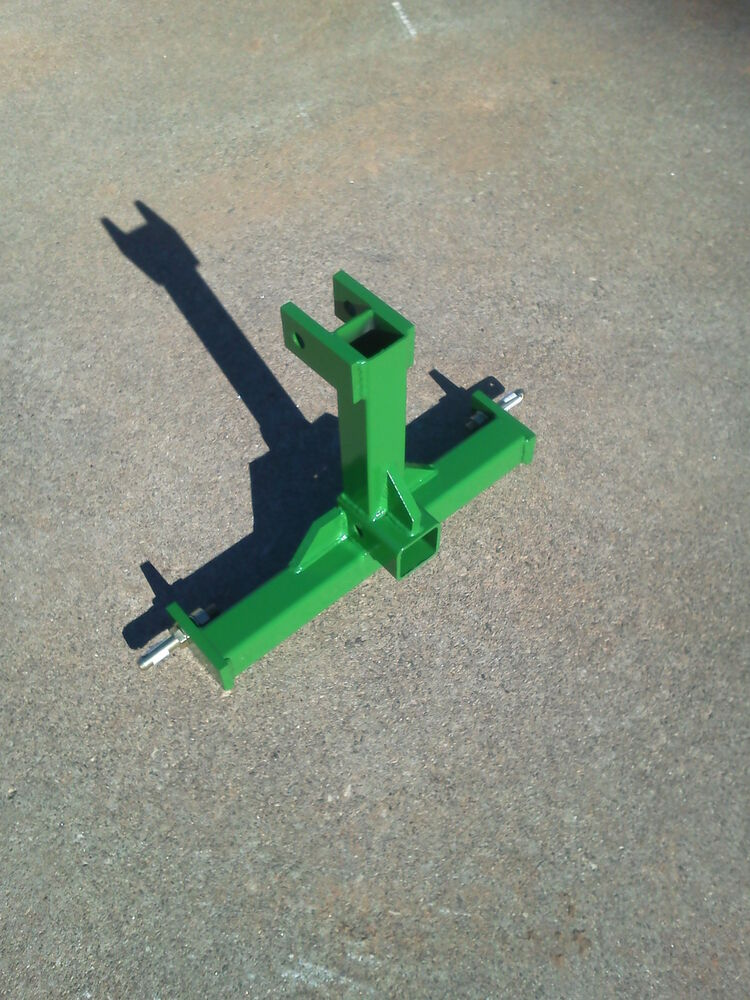 Category 0 3 Point Hitch : Cat farm tractor skid point hitch drawbar receiver