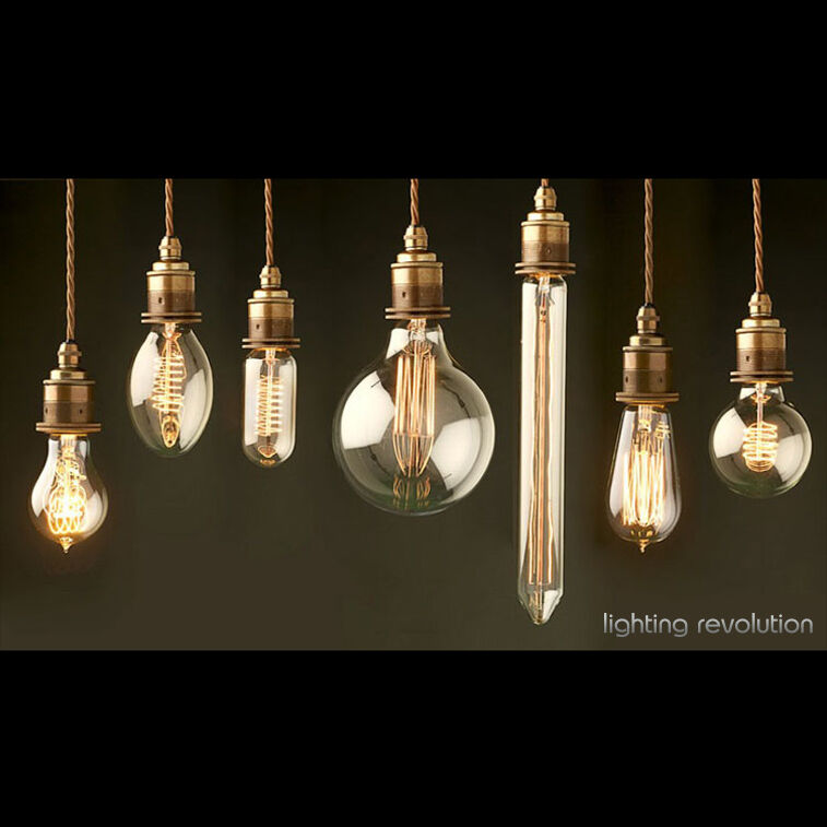 vintage style edison filament bulb e27 b22 old fashioned light bulb. Black Bedroom Furniture Sets. Home Design Ideas