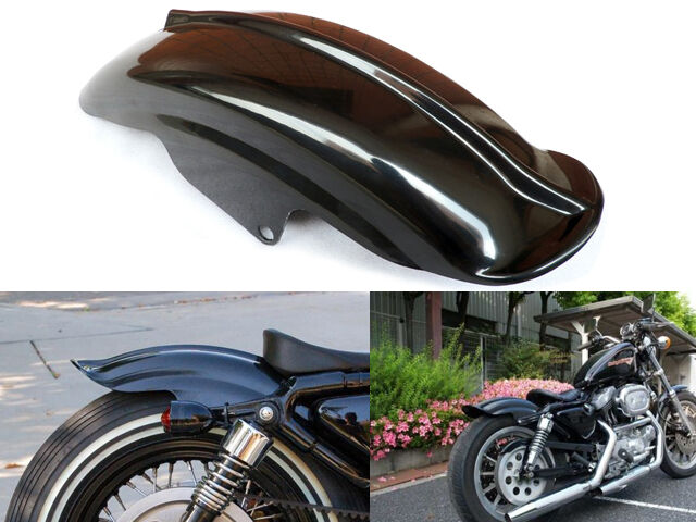 Rear Fender Mudguard For Harley Sportster XL Solo Cafe Racer Bobber