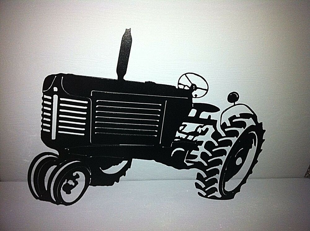 Metal Art Tractor : Oliver tractor metal wall decor hand crafted