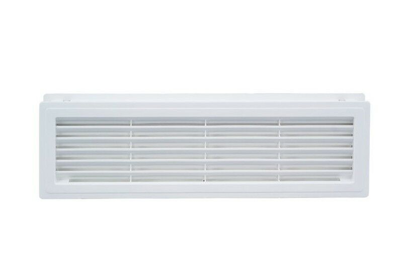 Bathroom Door Air Vent Grille 455mm X 135mm Two Sided