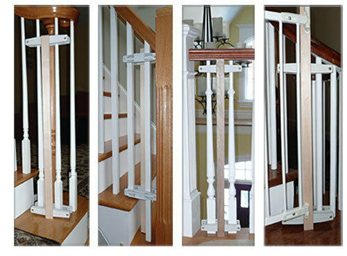 Safety Innovations Baluster Baby Safety Gate Mounting Kit
