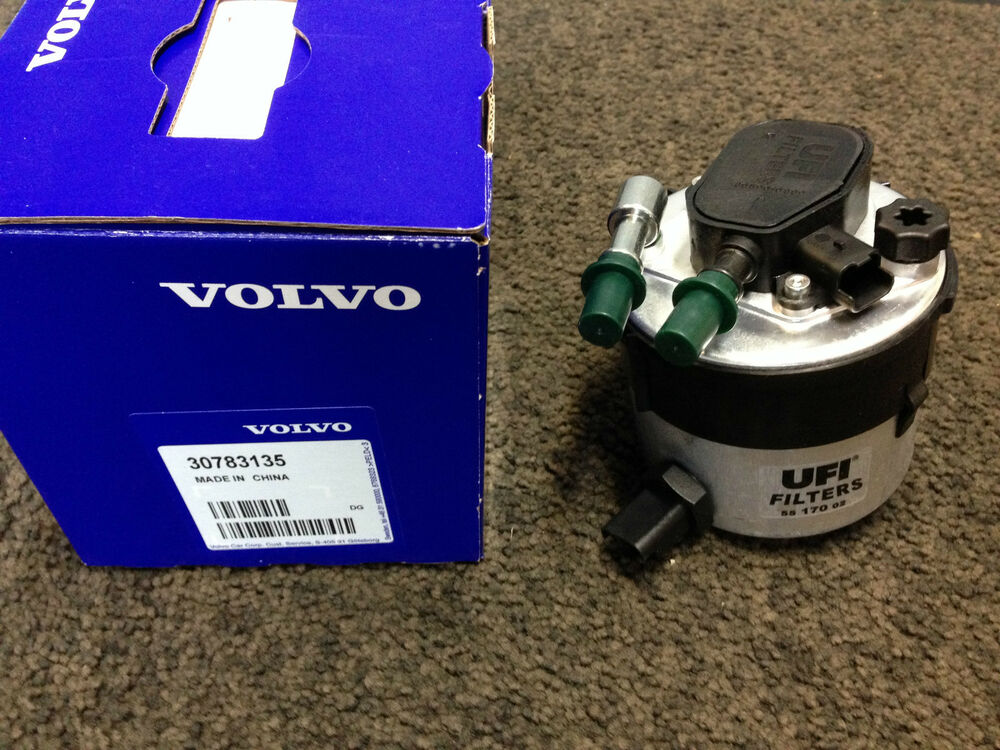 genuine volvo fuel filter 30783135 s40 v50 c30 s80 v70 d4164t 1 6 diesel ebay. Black Bedroom Furniture Sets. Home Design Ideas