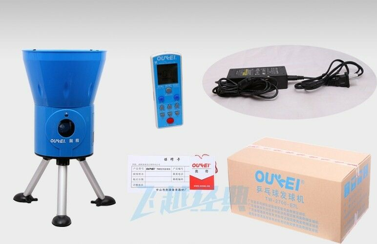 Oukei Ping Pong Table Tennis Robot E1a Ball Machine With