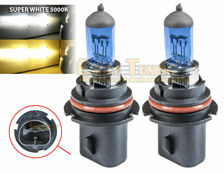 new 2 pcs 9004 hb1 auto xenon gas headlight bulb super. Black Bedroom Furniture Sets. Home Design Ideas