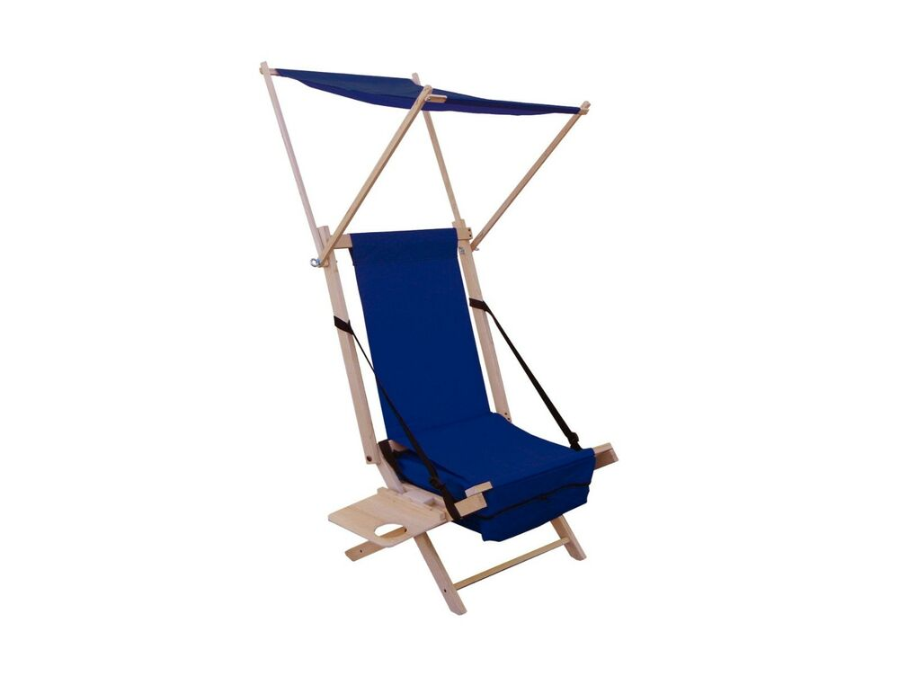 Beach Chair Folding Beach Chair Table Backpack Shade