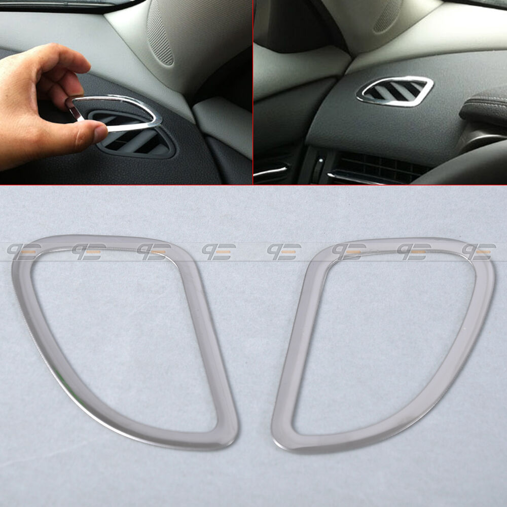 Car Interior Air Conditioning Vent Outlet Output Trim