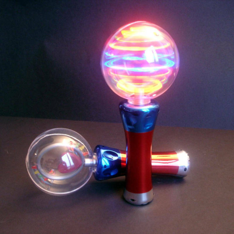 spinning light up ball 6 pieces novelty gift for all ages ebay. Black Bedroom Furniture Sets. Home Design Ideas